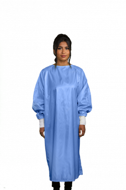 isolation gowns loose fit